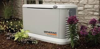 installing a whole house standby generator for your home today s generac standby generator in yard next to house