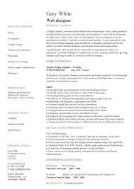 Web Developer Resume, Example, Cv, Designer, Template, Development with  regard to