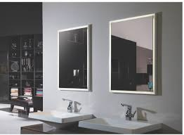 Bathroom Heated Mirrors Contemporary Lighted Bathroom Mirrors Lighted Bathroom Mirror