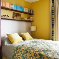 furnishing ideas for small bedrooms. small bright yellow bedroom furnishing ideas for bedrooms