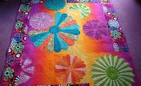 Fabric Tips: | Sharon Hughes Machine Quilting Studio & There is nothing Sharon Hughes Machine Quilting Studio 5_Dresden Plate Quilt Adamdwight.com