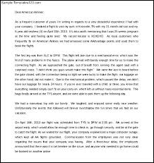 sample of complaint letter to airline company us best ideas of sample of complaint letter to airline company for your format sample