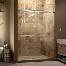 dreamline charisma 60 x 76 bypass single sliding shower door