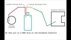 distributor wiring 1 youtube 12 volt ignition coil wiring diagram at Distributor Wiring Diagram