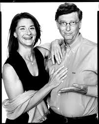 Bill gates announces divorce from wife, melinda after 27 years of marriage 0 epl introduces new laws to put man utd, chelsea, arsenal, others in check 0 insecurity: Melinda And Bill Gates Co Founders Bill Melinda Gates Foundation Seattle Washington Bill Gates Richard Avedon Portraits Richard Avedon