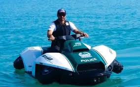 A Brand New Addition To The Uae Police Force An Amphibious Bike