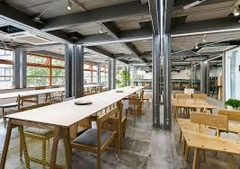 Share Space Stock A New Shared Office In Tokyo Designed Around Food And