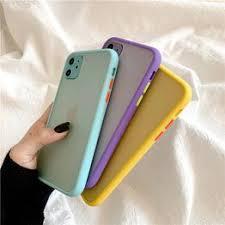 Mint Hybrid Simple Matte Bumper Phone Case for Iphone 11 ... - Vova