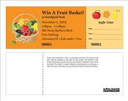 Raffles Tickets Buy Event Raffle Tickets For Fruit Basket Raffles