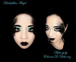saay september 22 2016 fallen dark angel this make up