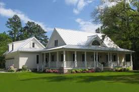Farmhouse Plans   Houseplans comSignature Southern country farmhouse home by William Poole the Calabash Cottage