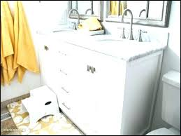 5 foot white bathroom vanity home depot double on for remod