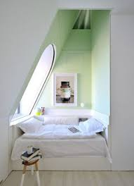 captivating mini side table design also contemporary sloping ceiling bedroom and lovely green wall paint