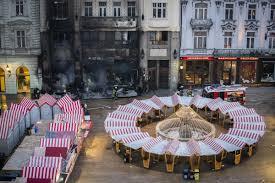 A Stall At Bratislavas Christmas Market Caught On Fire Spectator