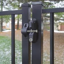 metal gate latch. metal gate latch