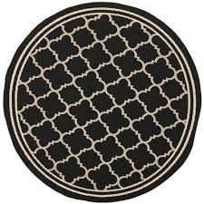 round water resistant outdoor rugs the home depot