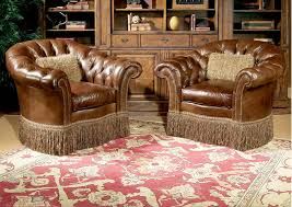 Luxury Leather Furniture Chaises Design by Century North Carolina