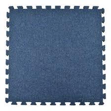 interlocking carpet squares. Beautiful Squares Greatmats Royal Blue Carpet Velour Plush 10 Ft X 5 With Interlocking Squares N