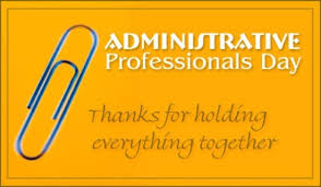 Administative Day Happy Administrative Professional Day Hayfield Community Schools