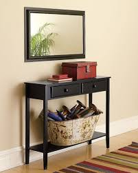 black hallway table. Hallway Table And Mirror Sets Amys Office Furniture Decoration Ideas Pictures : Black Hall With Drawers L
