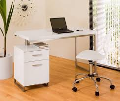 White Small Home Office Desk  Thedigitalhandshake Furniture