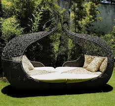 outdoor patio daybed. 15 Poolside Outdoor Day Beds For Your Deck- Pictured Above Is The Corsica Twin Daybed. Patio Daybed N
