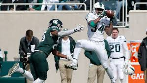 Michigan State freshman <b>Anthony Williams</b> makes case for RB job