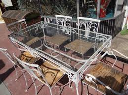 salterini outdoor furniture. Salterini [1928-1953] Wrought Iron Outdoor Patio Furniture F635