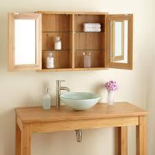 Bamboo Bathroom Cabinets 30 Lusky Bamboo Medicine Cabinet Bathroom