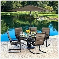 wilson and fisher patio furniture fancy 5 pertaining to 48 round glass dining table