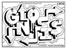 Small Picture Gnostic graffiti Gnosis Greek Graffiti K 8 ART Pinterest