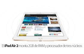 ipad mini 4 memoria ram