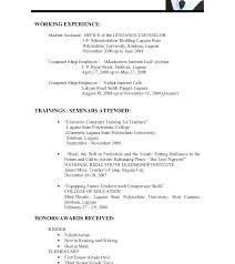 Resume Format For Freshers Curriculum Vitae Template Resume Format ...