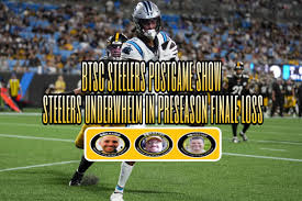 Pittsburgh steelers at carolina panthers on friday august 27 at 7:00 pm at bank of america stadium in charlotte, nc. Xuah37bq0zihwm