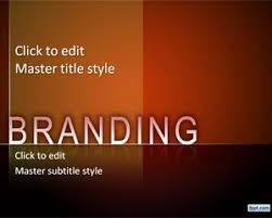 Nice Powerpoints Free Branding Powerpoint Template Design With Nice Background