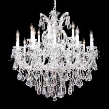 james moder 94738s22 maria theresa royal crystal silver chandelier lamp loading zoom