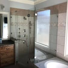 shower door installation in college station amen glass superior shower doors superior shower doors of atlanta