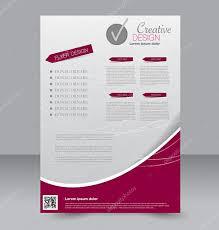 Editable Flyer Template Flyer Template Brochure Design Editable A4 Poster Stock