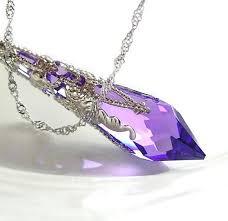 swarovski amethyst purple crystal