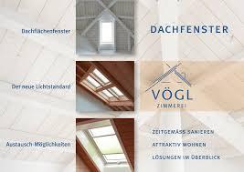 Zimmerei Vögl Baubericht Dachflächenfenster Wechsel Vom Profi