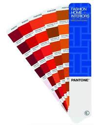Pantone Shade Cards Tpx Fashion