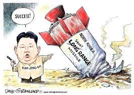 North Korea missle dud by Political Cartoonist Dave Granlund via Relatably.com