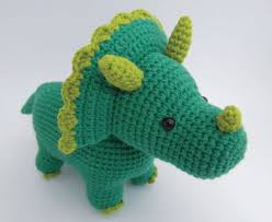Crochet Dinosaur Pattern Inspiration Triceratops Amigurumi Free Dinosaur Crochet Pattern ⋆ Crochet Kingdom
