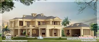 luxury villa square feet kerala home design floor plans