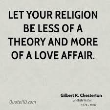 Religion Quotes Unique Gilbert K Chesterton Religion Quotes QuoteHD