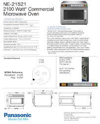 Heavy Duty Microwaves Panasonic Ne 21521 Heavy Duty Pro I Commercial Microwave Oven