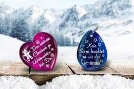 Weihnachtswünsche Jetzt Im Echten Edelstein Verewigen Und Verschicken