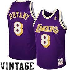 Lakers 8 Jersey Kobe Number Bryant