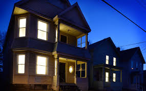 lighting in homes. perfect homes art u0027breathesu0027 new light into vacant schenectady homes intended lighting in homes