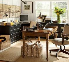 pottery barn home office furniture. I Kind Of Love This Office Layout. Printer\u0027s Corner Desk Set | Pottery Barn Home Furniture